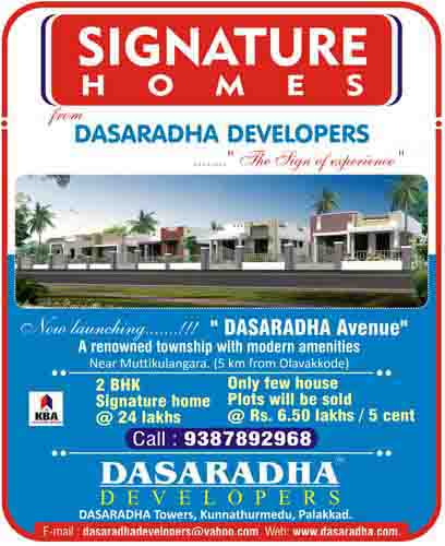 signature home villas in palakkad